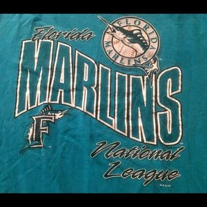 Shirts - 1993 Men's Florida Marlins t shirt.